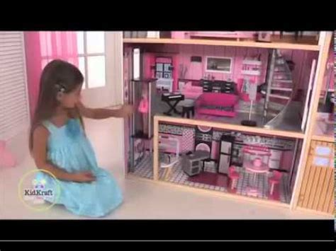 the biggest barbie doll house kidkraft sparkle mansion dolhouse 65826 the biggest doll house for barbie youtube