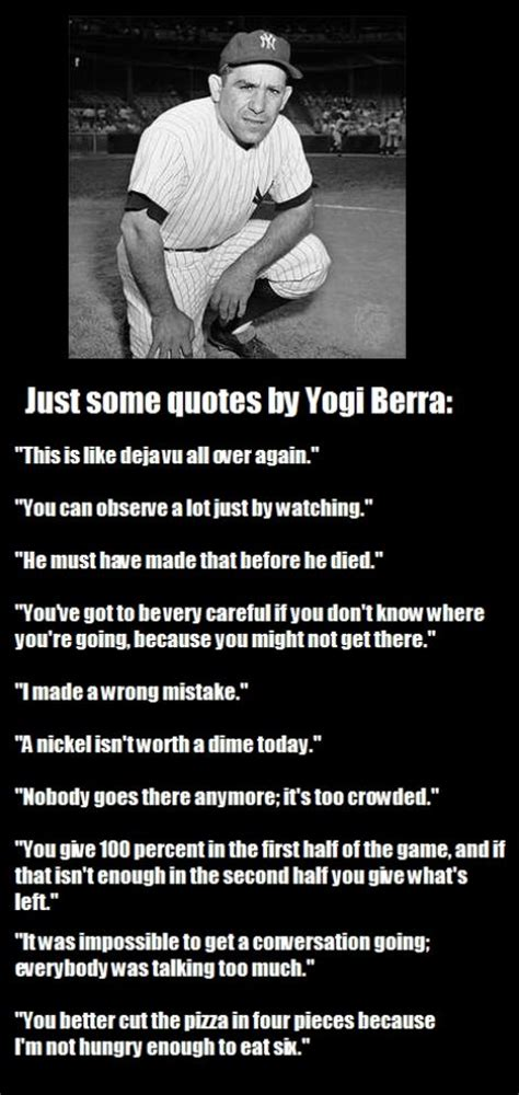 pitching  yogi berra quotes quotesgram
