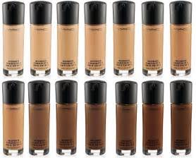 mac foundation color chart mac matchmaster foundation