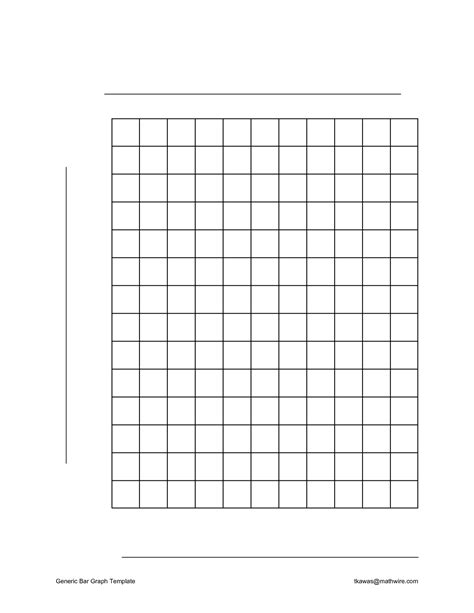pin blank bar graph template for kids on pinterest