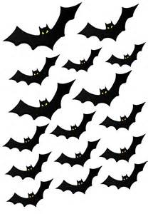 printable bat stationary paper bats