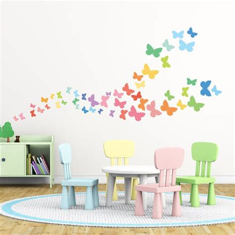 Butterfly Wall Decals For Nursery 25 Best Ideas About Butterfly Wall Stickers On Pinterest Butterfly Wall Decals Butterfly