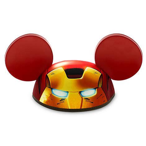 disney child ears hat marvel iron man