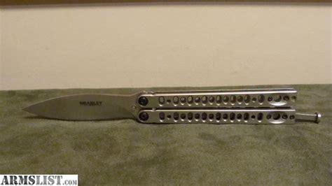 bradley kimura butterfly knife armslist for sale bradley kimura ii butterfly knife