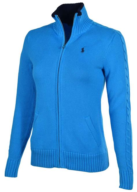 polo ralph s sport zip pony mock sweater