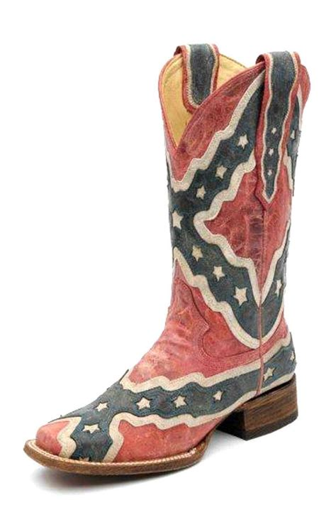 corral rebel flag boots boot scootin country stuff d pi