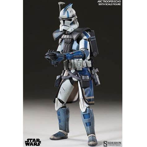 clone trooper wall display armor monkey depot sideshow star wars arc clone trooper echo