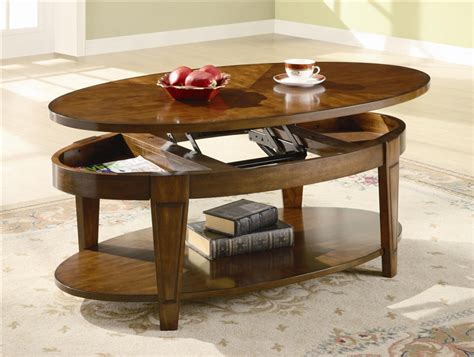coaster furniture lift top coffee table oval lift top coffee table in cherry finish by coaster