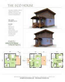 Eco House Plans by Purcell Timber Frames The Eco House