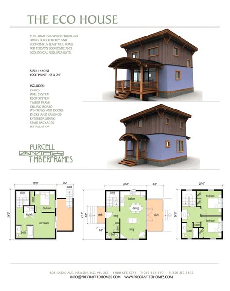 eco cabin plans purcell timber frames the eco house