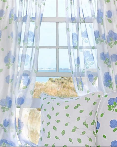 seaside curtain material tour a dreamy seaside cottage
