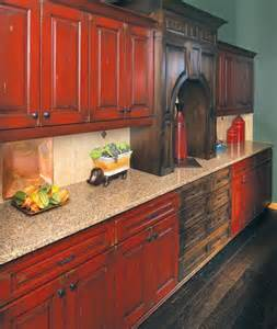 red painted kitchen cabinets 25 best ideas about red kitchen cabinets on pinterest