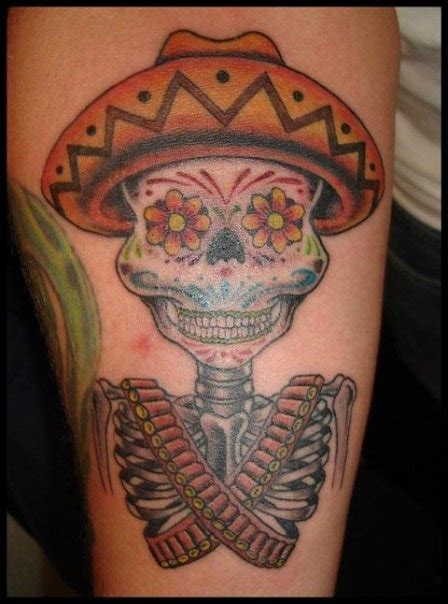 40 Bloodcurdling Day Of The Dead Tattoos Day Of The Dead Tattoos