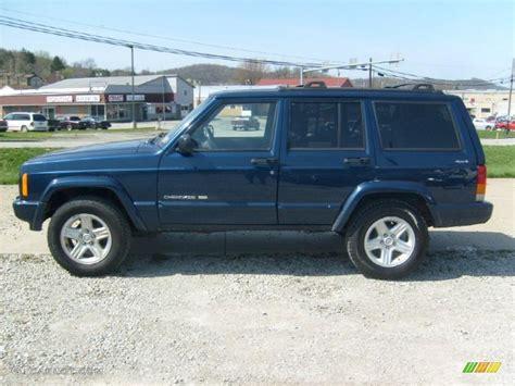 Patriot Blue Jeep Patriot Blue Pearlcoat 2001 Jeep Classic 4x4
