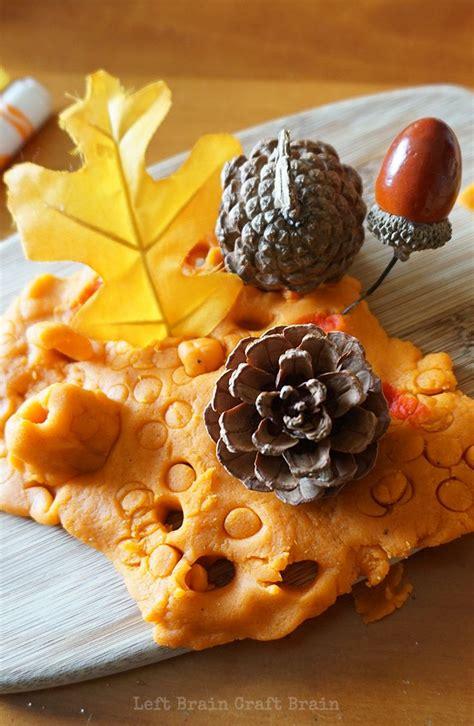 pumpkin pie spice play dough kids season autumn autumn activities fall preschool