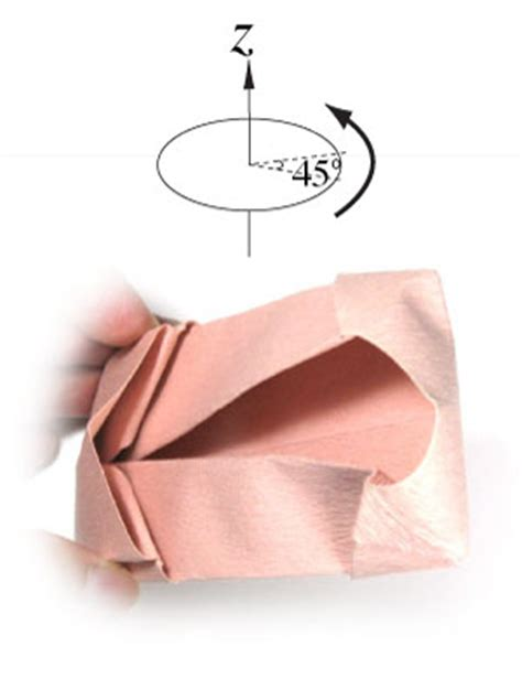 Origami Ballet Shoes - how to make a ballet origami shoe page 17