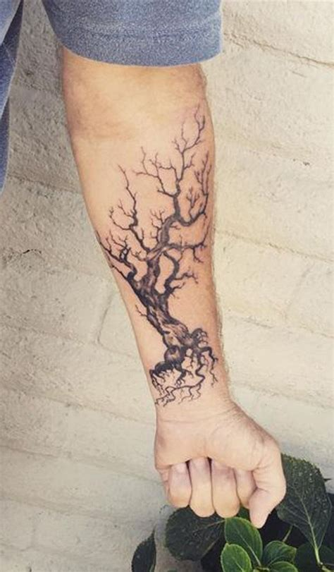 tree tattoo designs for men tree wrist designs ideas and meaning tattoos for you
