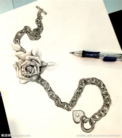 黑白玫瑰花素描图片图片 黑白玫瑰花素描图片图片下载