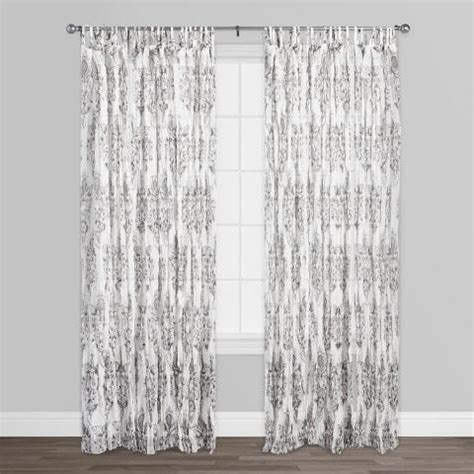 white crinkle sheer curtains white octavia sheer crinkle cotton voile curtains set of 2