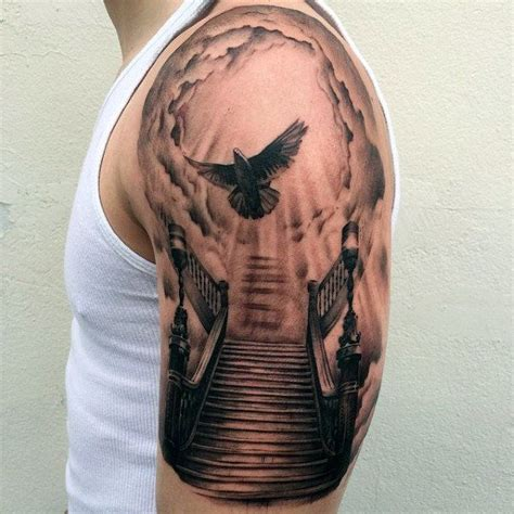 gateway to heaven tattoo designs 25 best half sleeve tattoos ideas on half