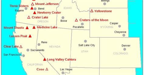 map of volcanoes in the united states volcanoes in united states map map us volcanoes 28 images