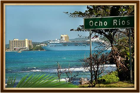 Largest Cruise Ship About Ocho Rios Sandcastles Jamaica Sandcastles Ocho