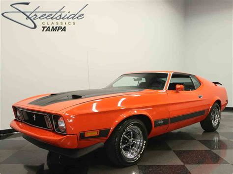 Ford Mustang Mach 1 by 1973 Ford Mustang Mach 1 For Sale Classiccars Cc