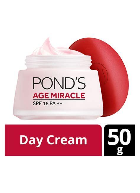 Pelembab Ponds ponds pelembab wajah age miracle new day pot 50g