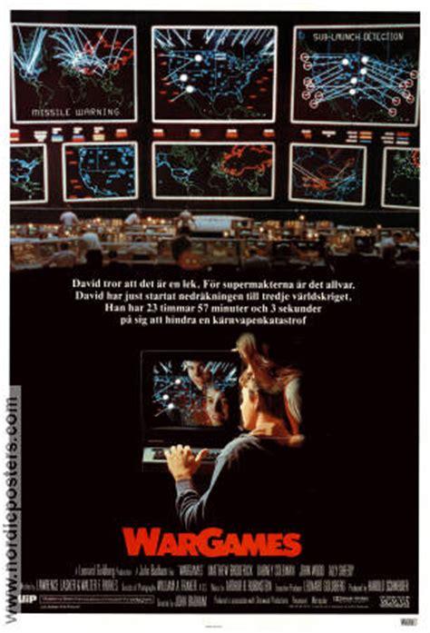 Wargames 1983 Film Wargames Movie Poster 1983 Original Nordicposters