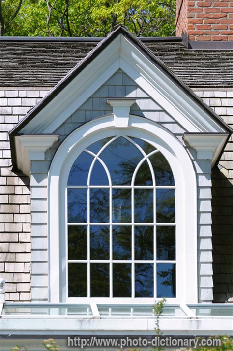 Define Dormers dormer window photo picture definition at photo dictionary dormer window word and phrase