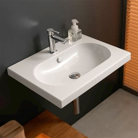 wide bathroom sinks tecla edw1011 bathroom sink edo wide nameek s