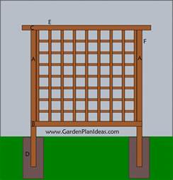Free Trellis Plans How To Build A Shed Explained Simple Wooden Trellis Plans