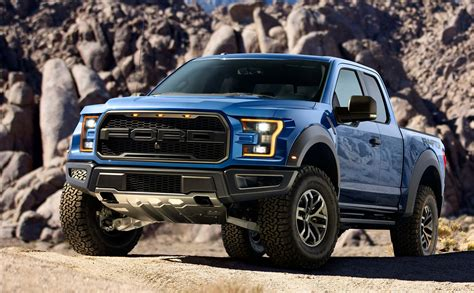 Blue 2017 Ford Raptor by 2017 Ford Raptor Colors Add Offroad