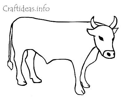 Ox Printable Coloring Pages Ox Coloring Page