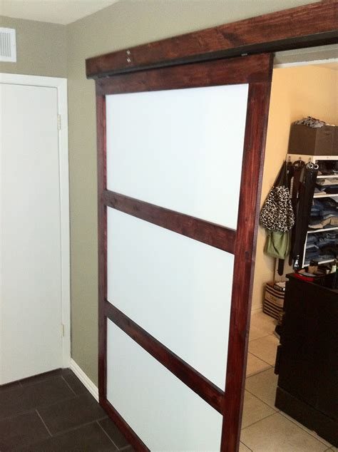 Diy Sliding Closet Door Diy Closet Sliding Door