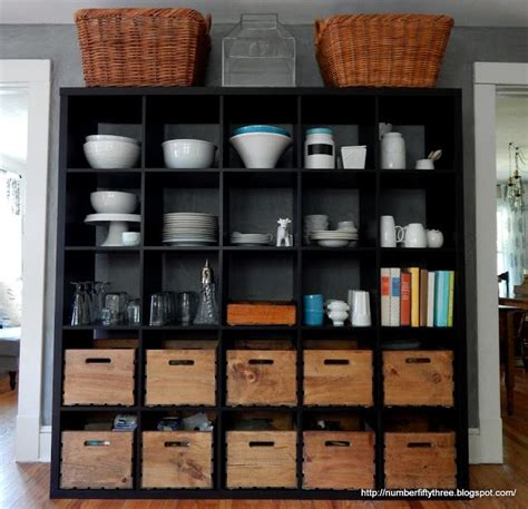 kitchen storage ideas ikea ikea kallax as kitchen storage another glimpse at our