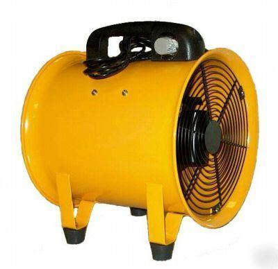Portable Ventilator Blower Exhaust 10 Westco 1872 cfm portable 10 quot utility blower ventilator dryer