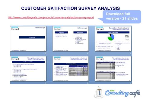 customer satisfaction survey analysis