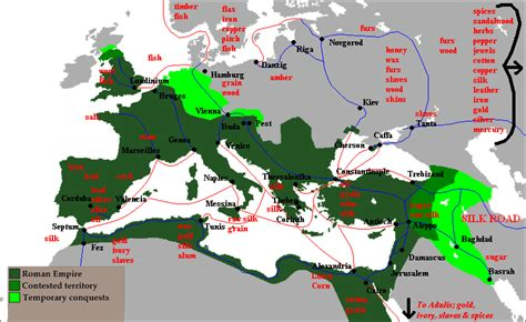 ottoman empire trade goods file trade routes of the medieval roman empire png wikipedia