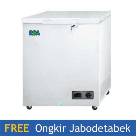 Freezer Box 1000 Liter jual rsa cf 100 chest freezer 100 liter di lapak