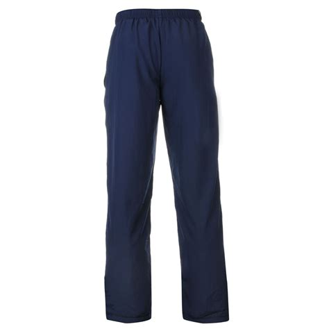 mens essential open hem woven trousers bottoms