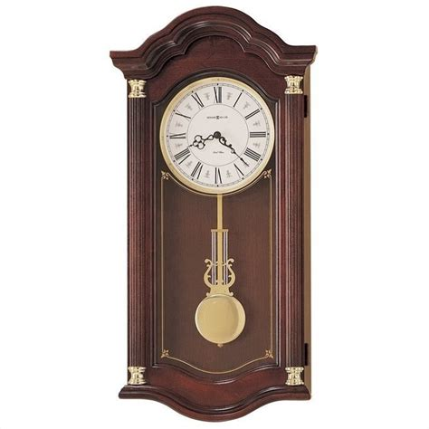 Antique Dining Room Tables by Howard Miller Lambourn I Quartz Wall Clock 620220