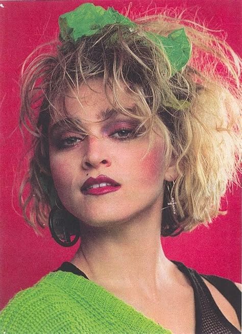 80s hair styles with scarves madonna 80 s yes i had the haircut complete with sash