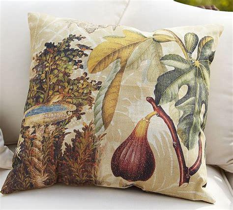 Decoupage For Outdoors - comfortable mediterranean fruit decoupage outdoor pillows