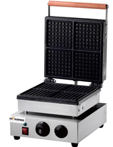 Mesin Waffle mesin waffle kotak 4 wf04 toko mesin maksindo toko