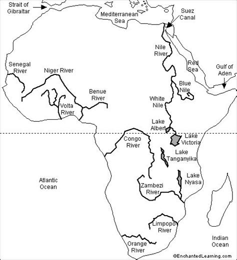world rivers map worksheet cc1 labeled outline map rivers 7th grade