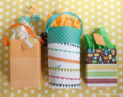 Gift Bags From Scrapbook Paper - 25 best ideas about paper gift bags on diy