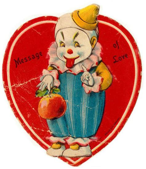 34 vintage creepy valentines day cards for romantics