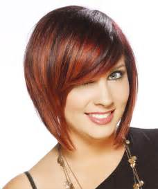 inverted bob hairstyles with fringe short choppy red hair for women hairstyle gallery