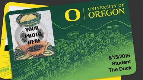 University Of Oregon Gift Card - duck id submit a selfie human resources